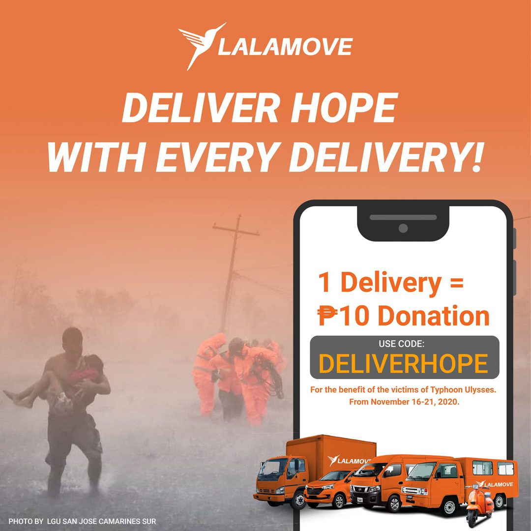 Lalamove Delivers Hope on their 4th Anniversary