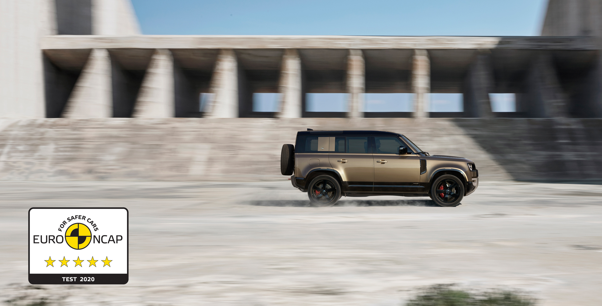 5-STAR EURO NCAP SAFETY RATING FOR THE LAND ROVER DEFENDER 110