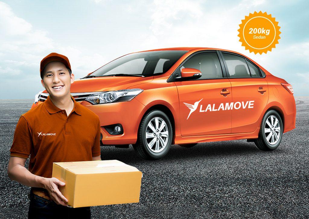 Lalamove creates more jobs this 2021 by launching their Sedan fleet