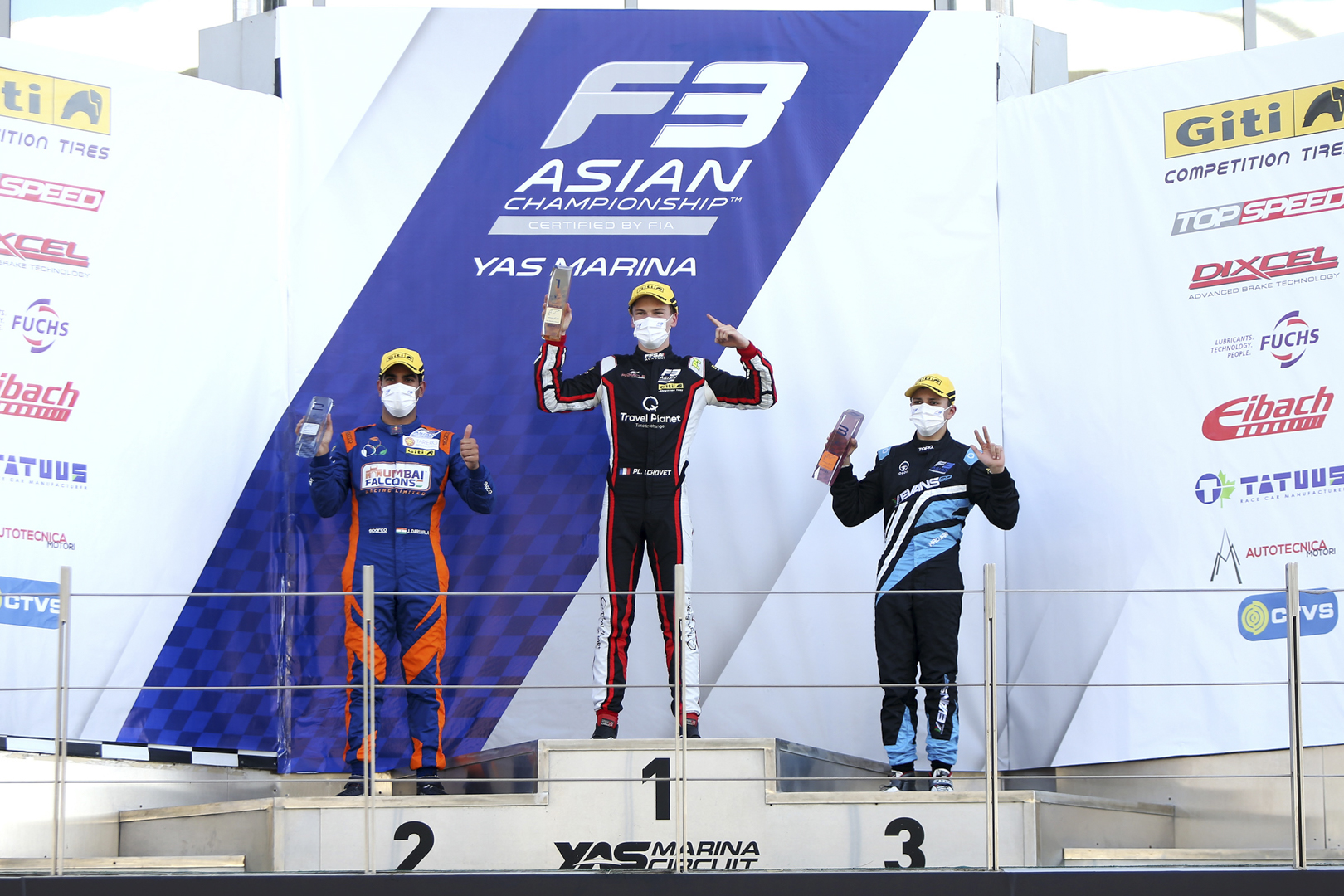 Pinnacle Motorsport keep F3 Asia title fight alive with race win at Abu Dhabi