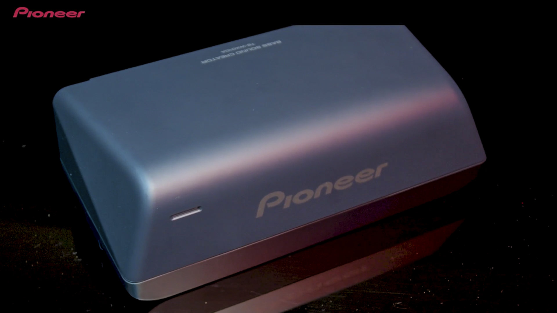 Pioneer debuts a subwoofer so small, you might forget its there