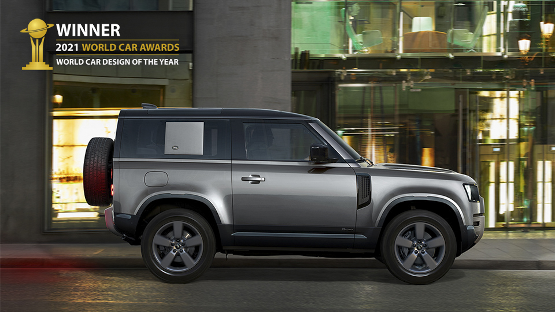 New Land Rover Defender named 2021 World Car Design of the Year