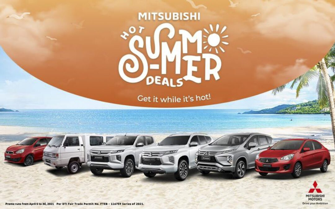 Mitsubishi Motors Extends Hot Summer Deals with New Promo for the L300