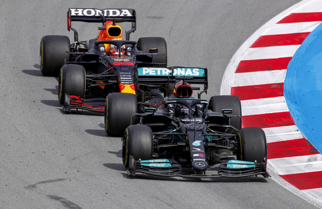 Lewis claims an exhilarating victory for the Mercedes-AMG Petronas F1 Team in Barcelona, with Valterri finishing strongly in P3