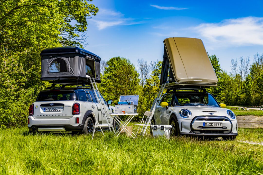 MINI goes on holiday – with the greenest camper fleet in the world