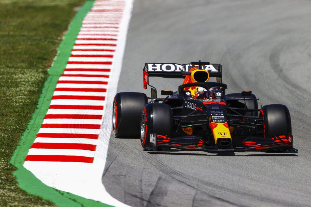 Red Bull Racing Honda and Scuderia AlphaTauri Honda #SpanishGP Qualifying