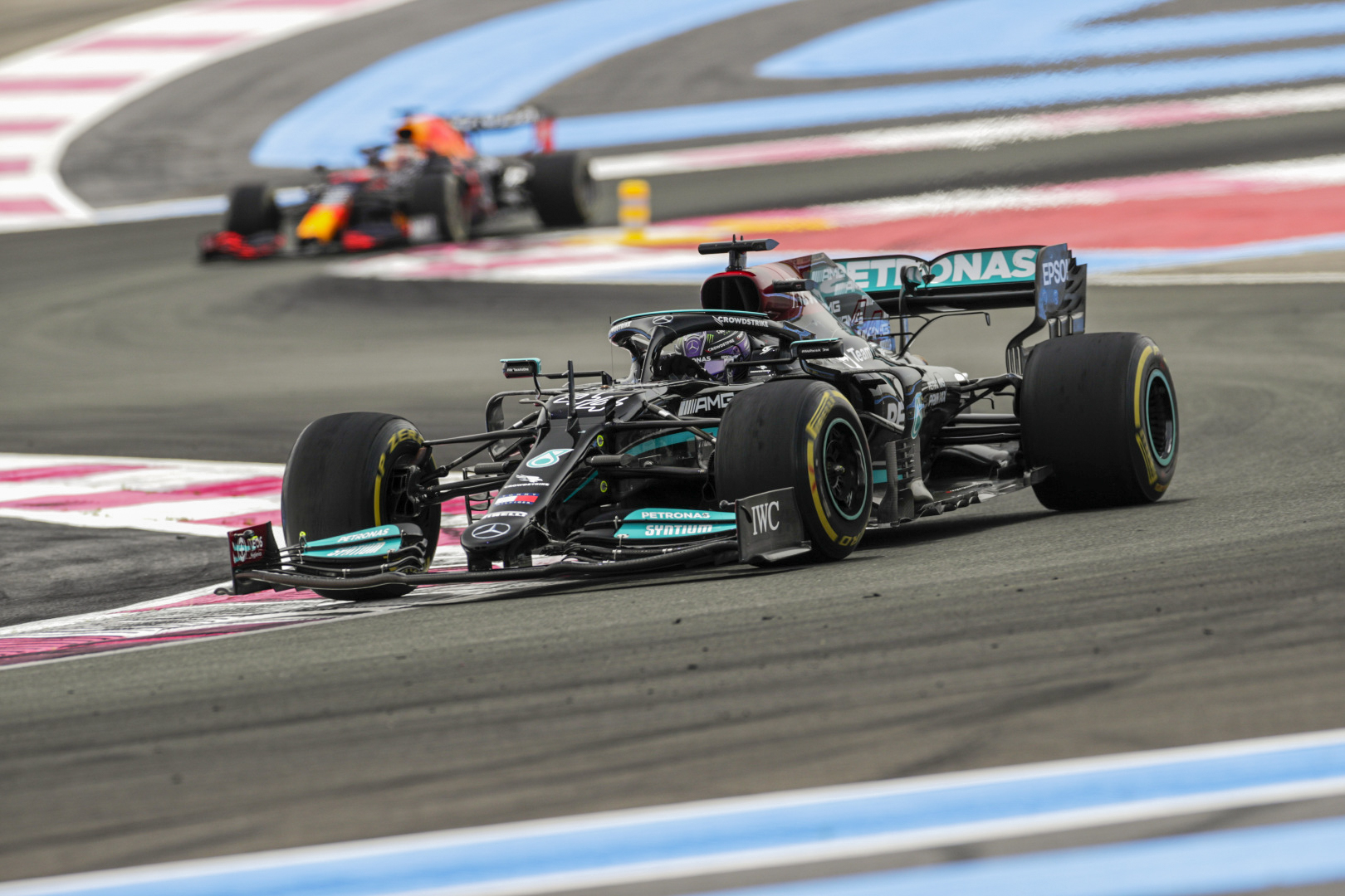 Lewis takes P2 and Valtteri P4 for the Mercedes-AMG Petronas F1 Team at the 2021 French Grand Prix