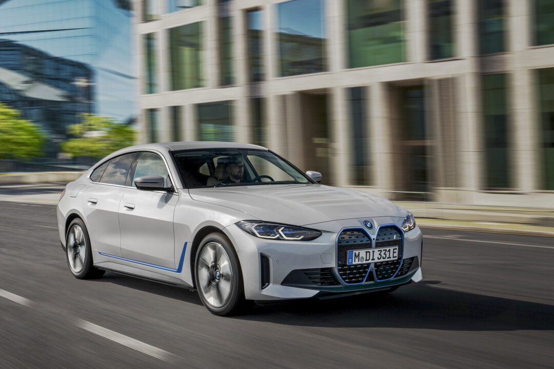 The first-ever BMW i4