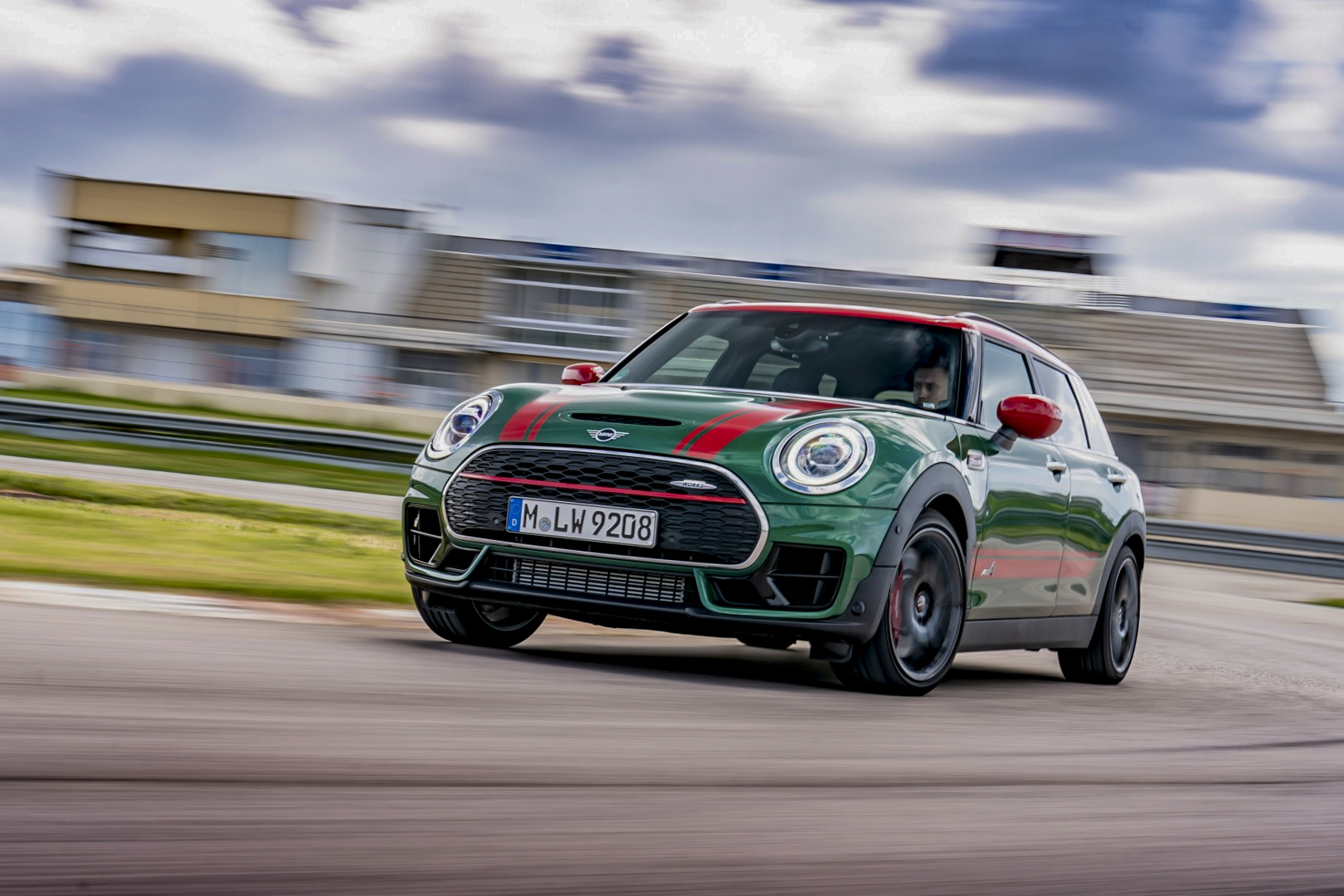 From the Rambla to the race track: with the MINI John Cooper Works Clubman on Mallorca