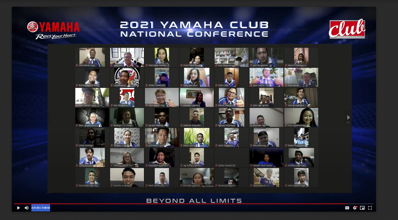 Yamaha Club: Riding the changes beyond all limits
