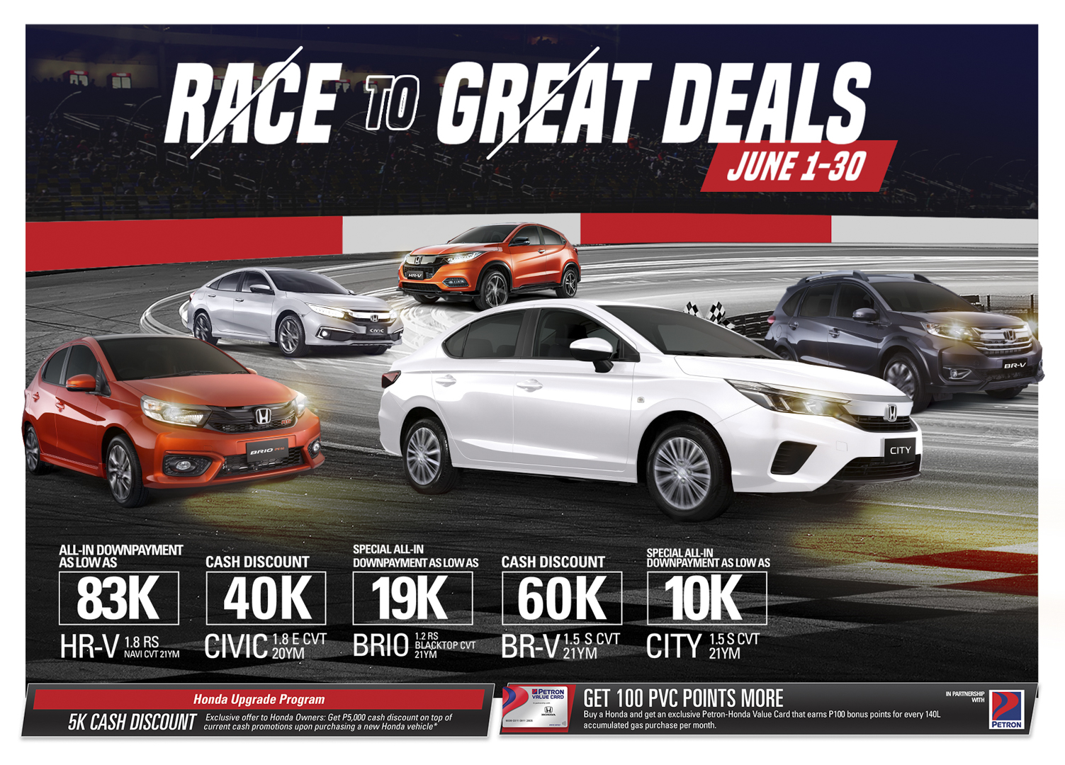 Exciting promos and great deals await Honda customers this June
