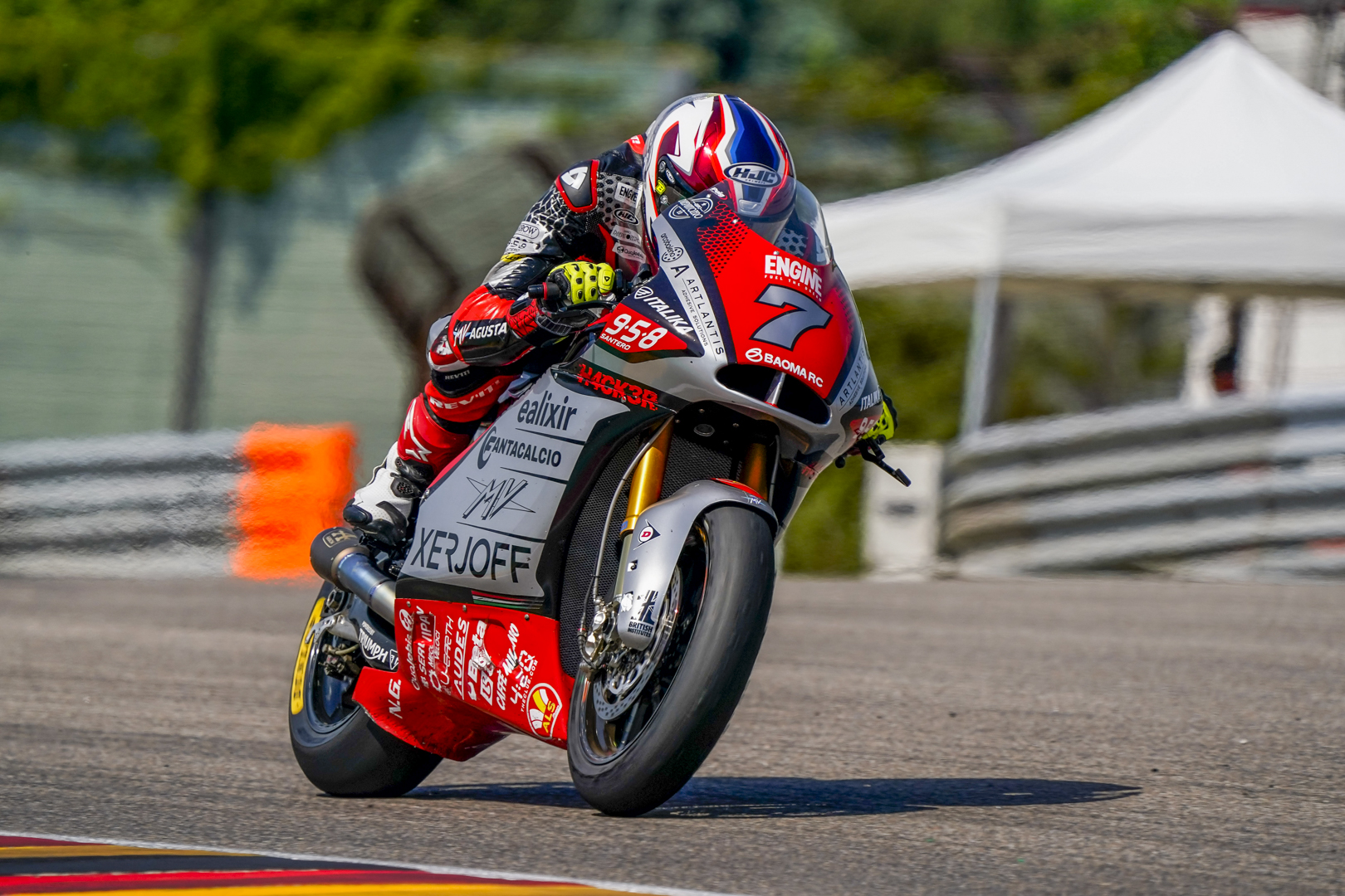 Baldassarri recovers almost 7 tenths in Q1 compared to FP3, complicated qualifying for Corsi