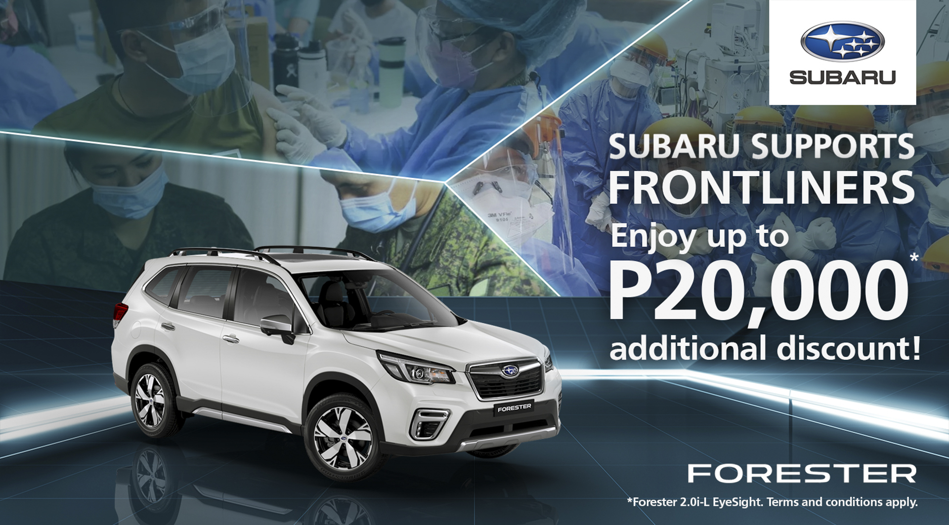 Subaru launches Special Frontliners Appreciation promo this July
