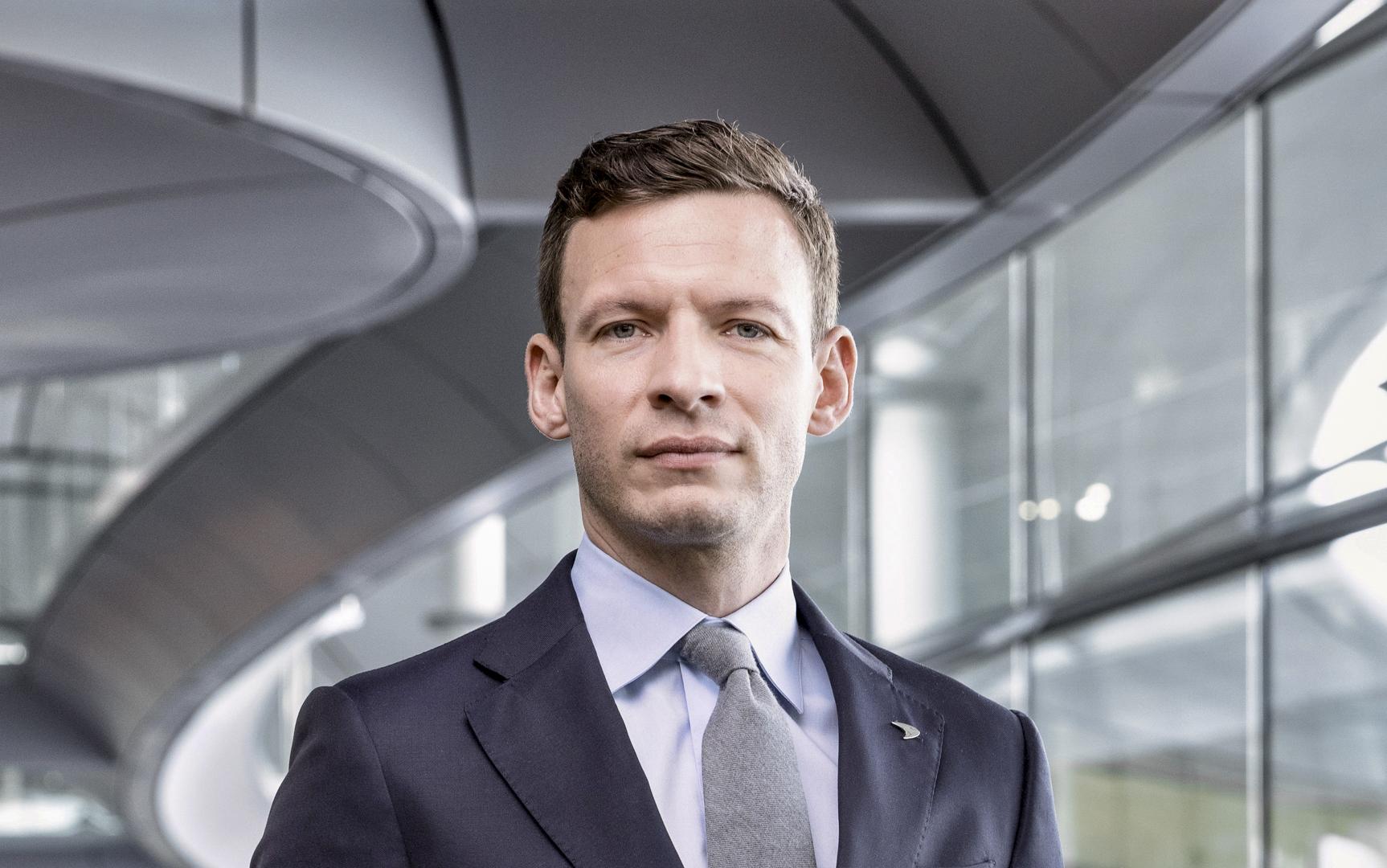 McLaren Automotive appoints George Biggs as Commercial Executive Director