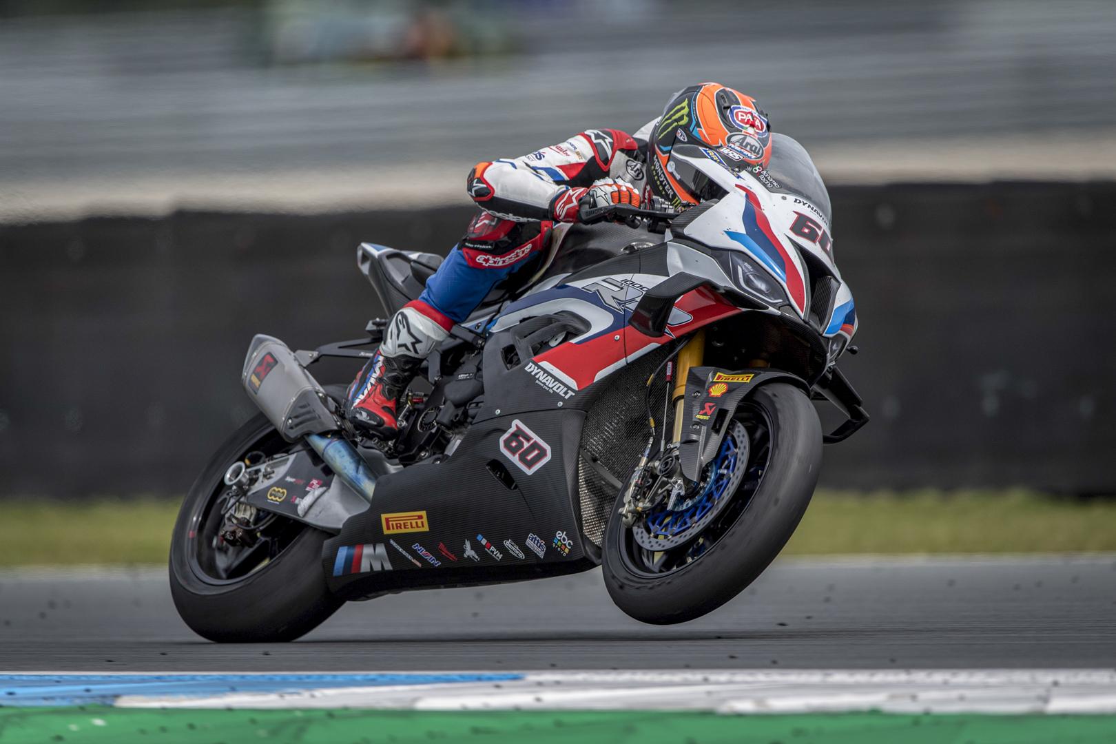 Mixed feelings for BMW Motorrad Motorsport on WorldSBK Saturday at Assen