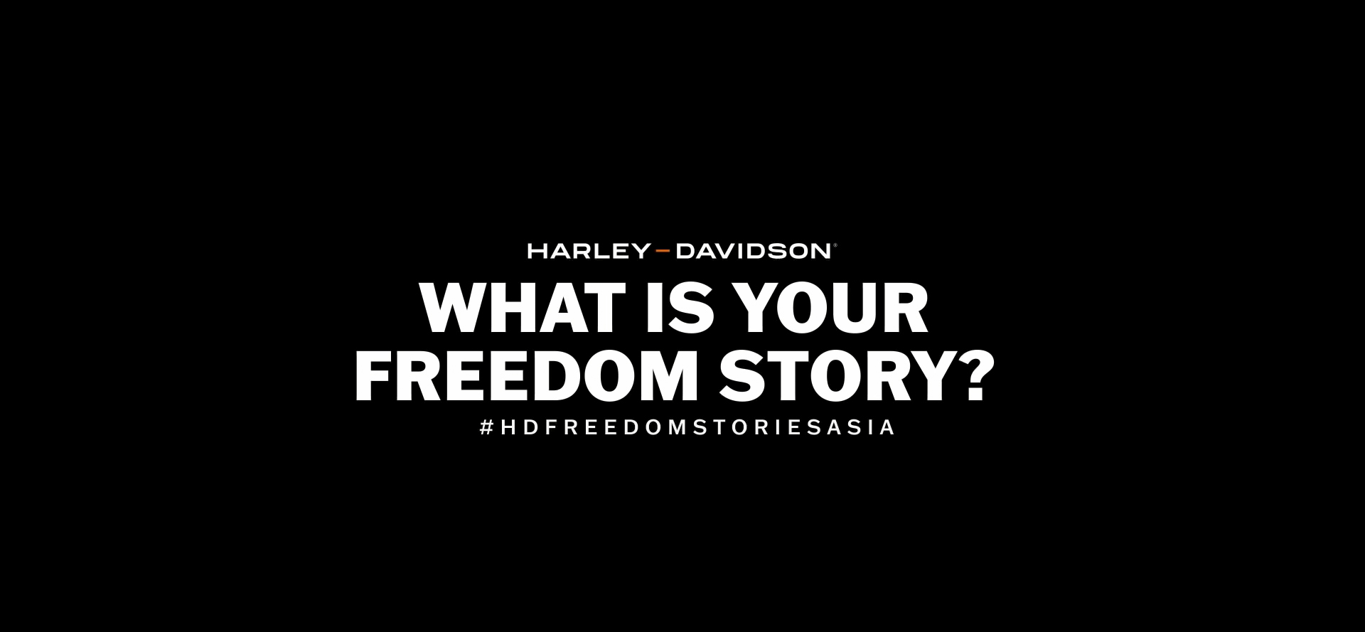 Harley-Davidson® Invites Riders to share their Freedom Stories