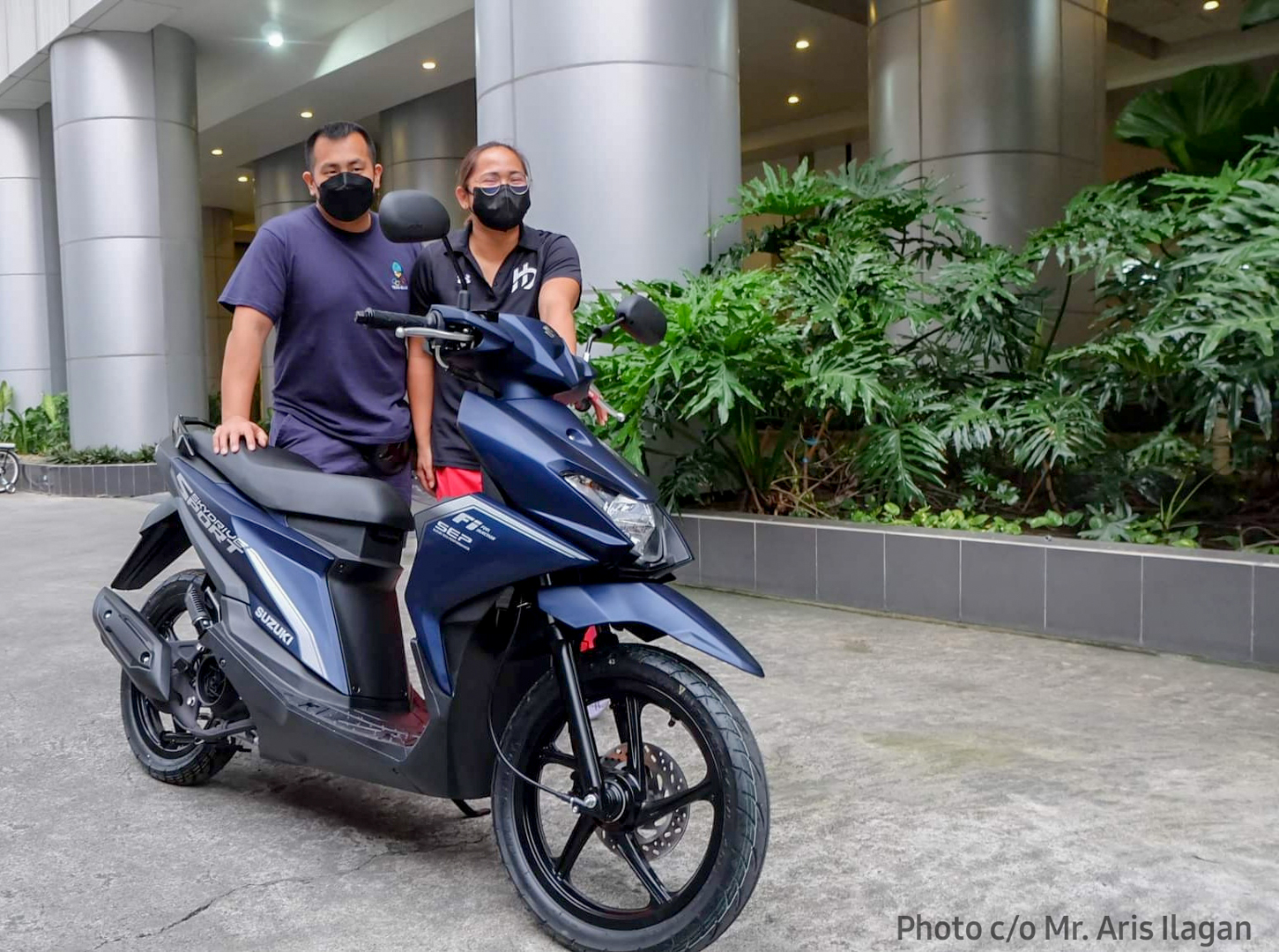 Hidilyn Diaz Receives Her Brand New Scooter from Suzuki Philippines