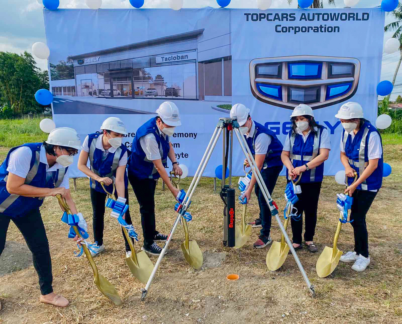 Geely PH Hastens Expansion Activities, Breaks Ground for New Outlets in  Calamba, Tacloban, and Bacolod
