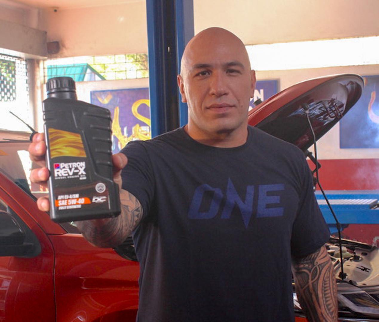 Brandon Vera Trusts Petron Rev-X Diesel Engine Oil