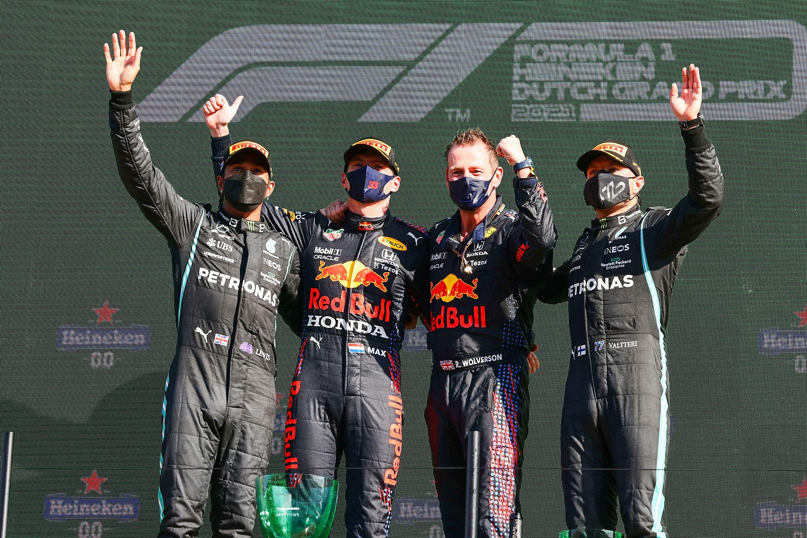 Double podium finish for the Mercedes-AMG Petronas F1 Team at Zandvoort