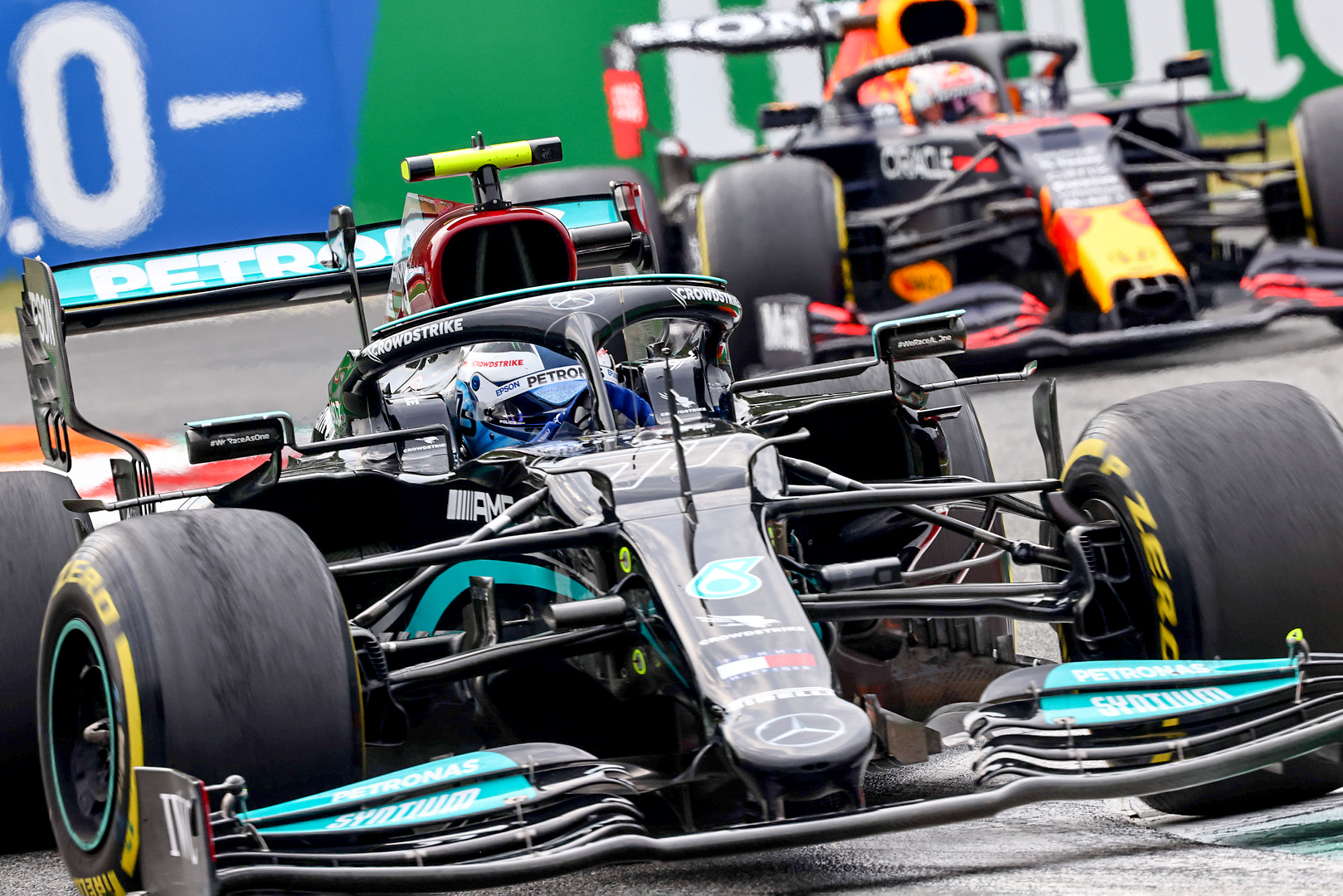 The Mercedes-AMG Petronas F1 Team will start tomorrow's Sprint Race on the front row after a strong Friday qualifying session at the Italian Grand Prix