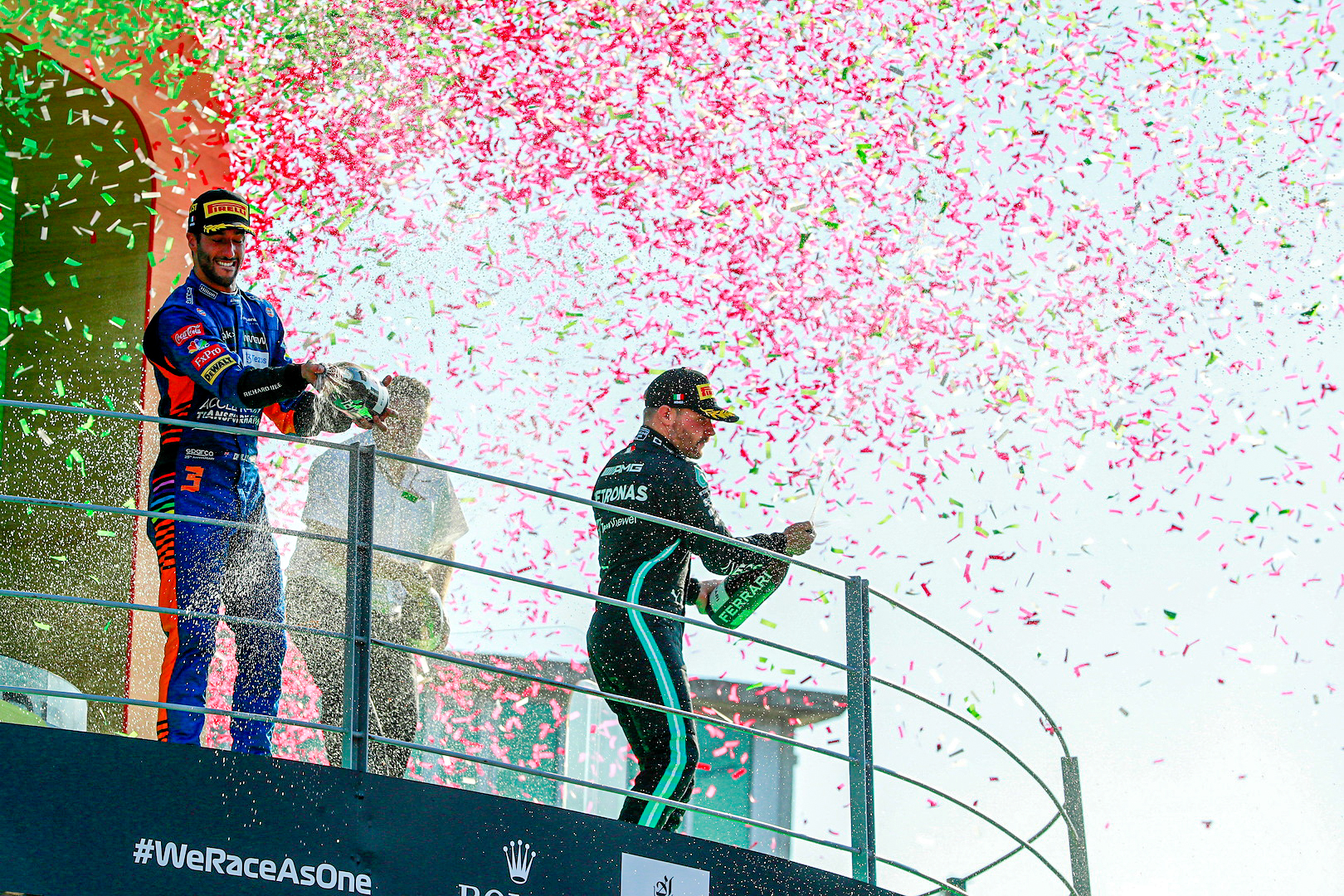 Valtteri claims an impressive podium for the Mercedes-AMG Petronas F1 Team, with Lewis suffering his first DNF of the season after a collision with VER at Turn 2