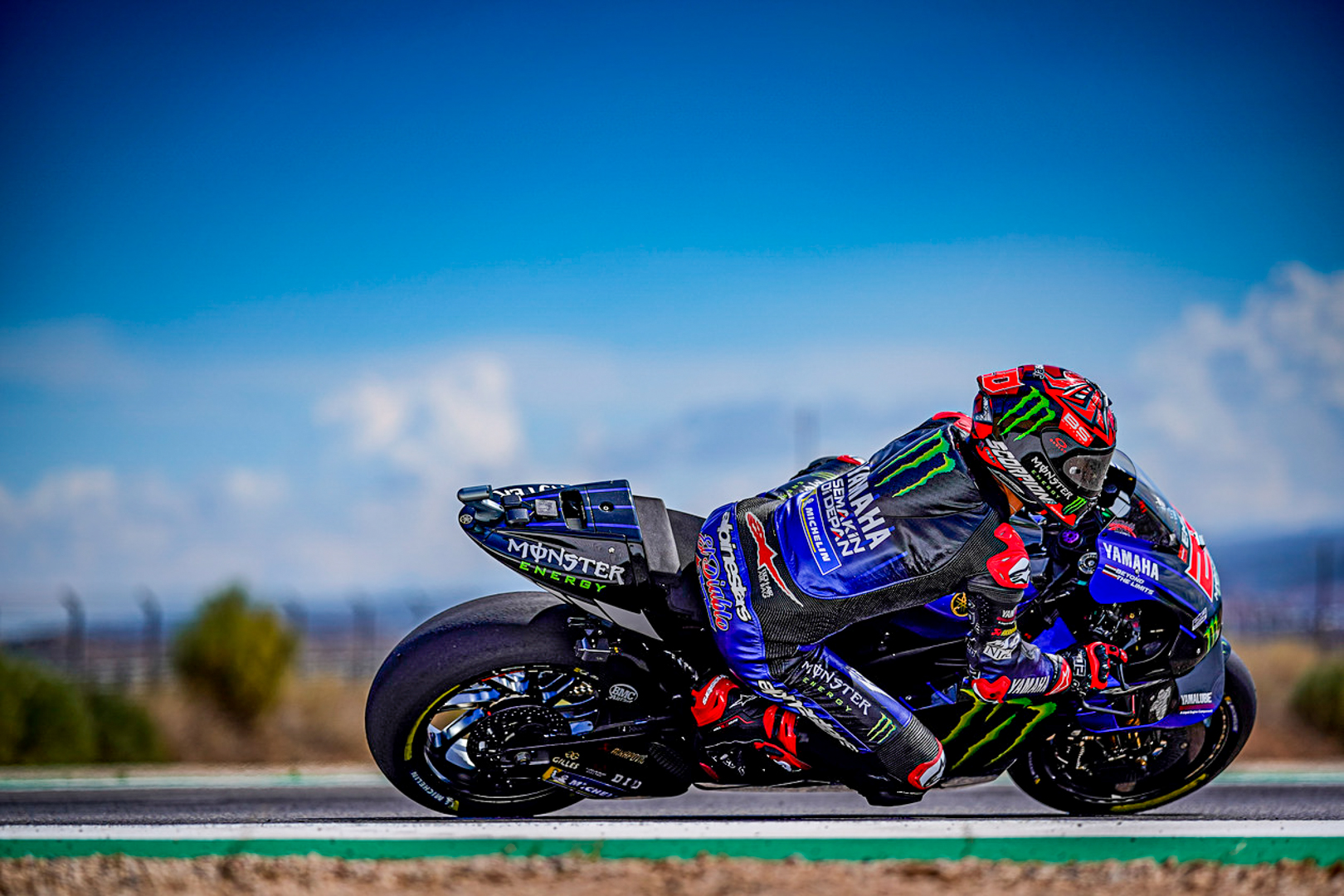 Monster Energy Yamaha MotoGP to Start Aragon Attack from P3 and P15