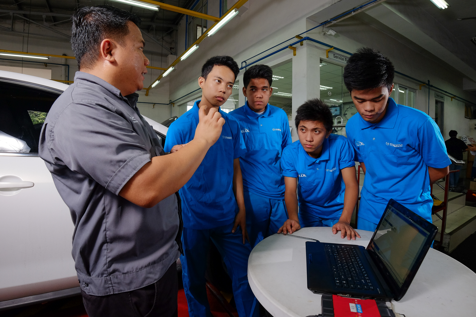 Mazda Philippines continues its 8th Year of Partnership with MFI Polytechnic Institute to Educate Underprivileged Youth