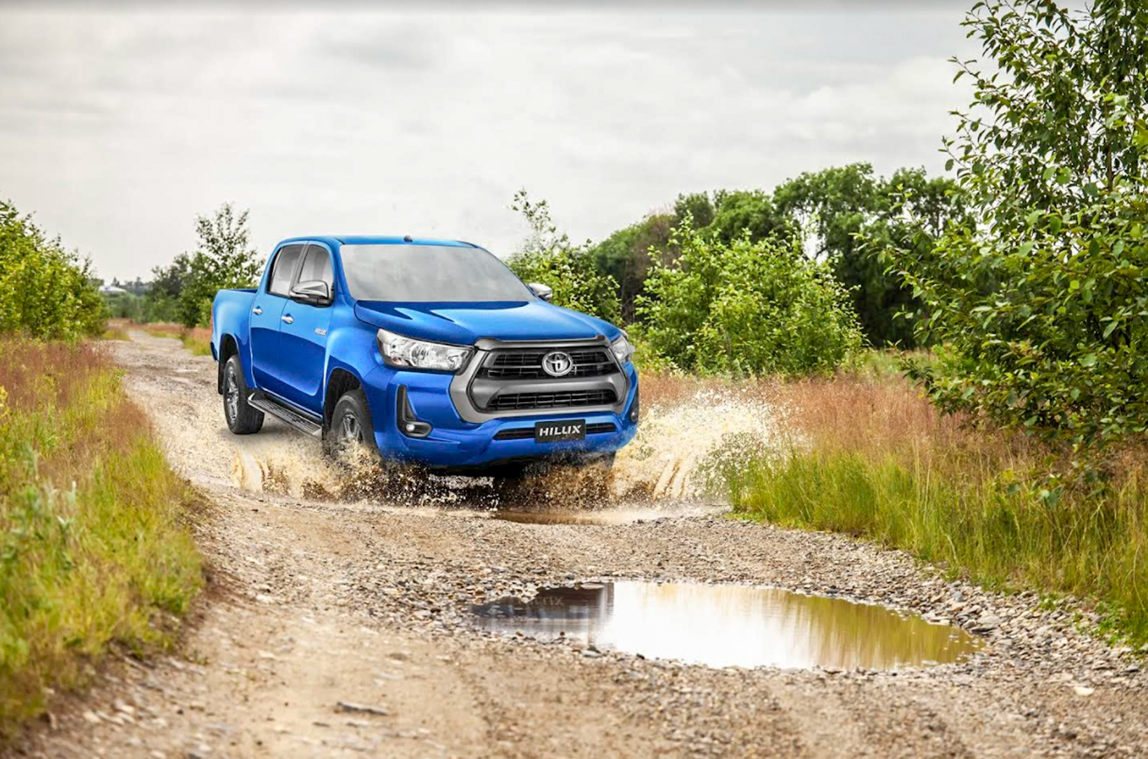 Powered by passion and grit: the Toyota Hilux is ready to conquer every course