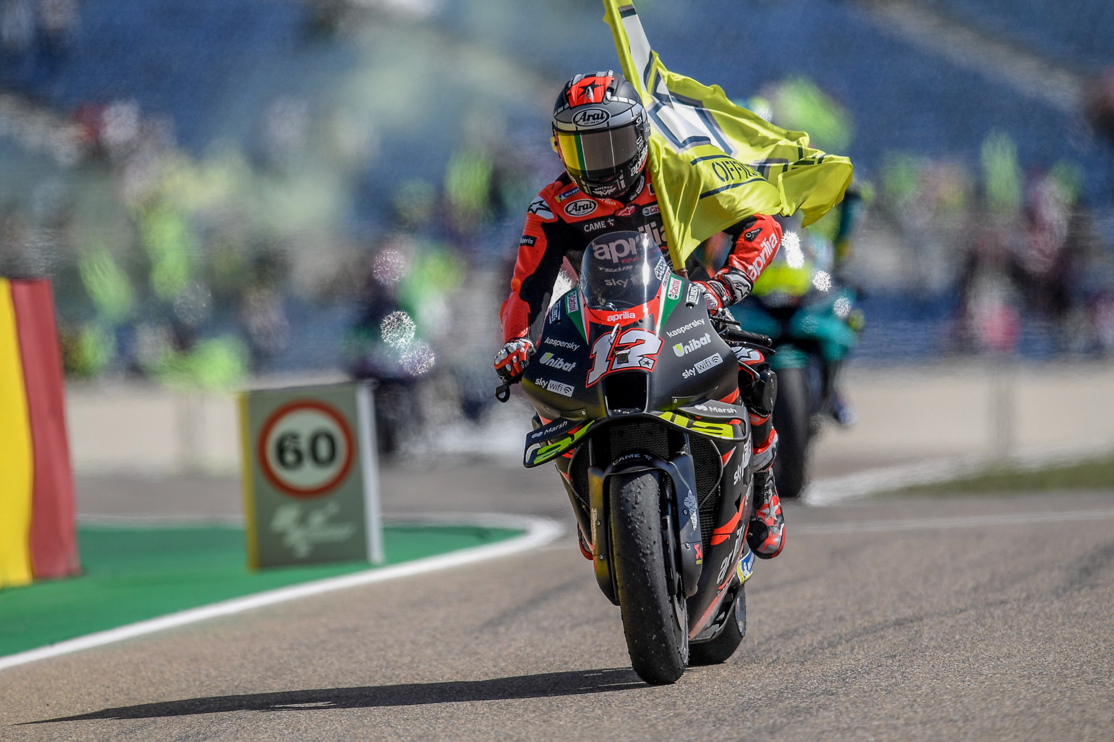 Another race at the front for Aleix and Aprilia, Maverick's feeling improves lap after lap